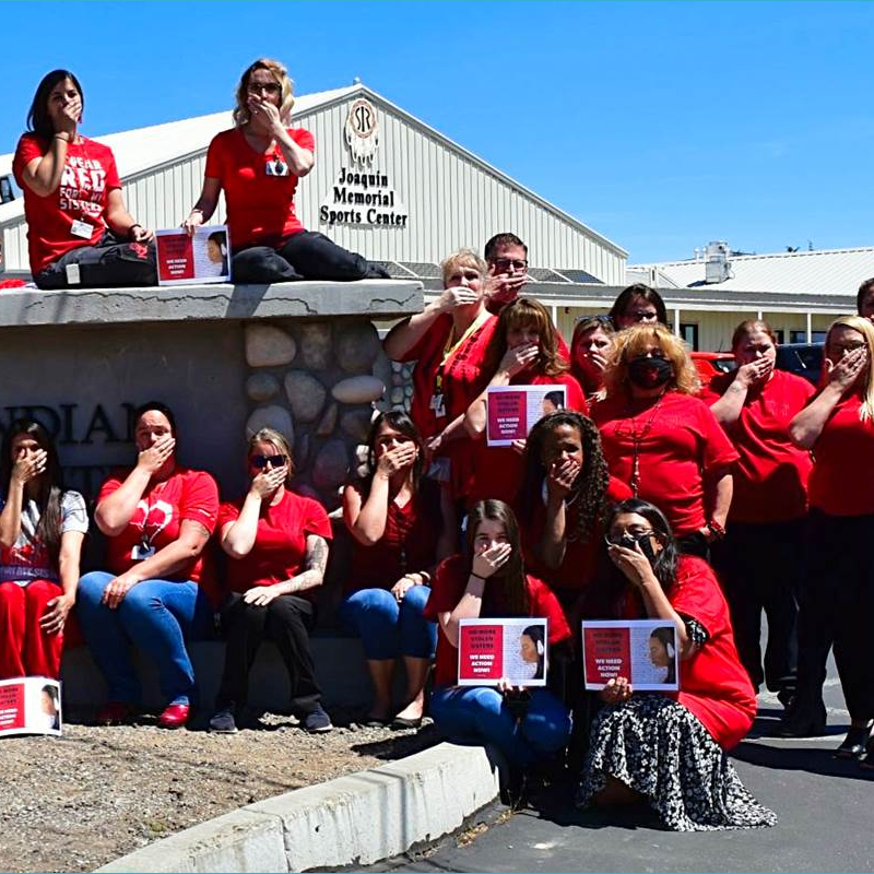 MMIW at Lassen Indian Health Center