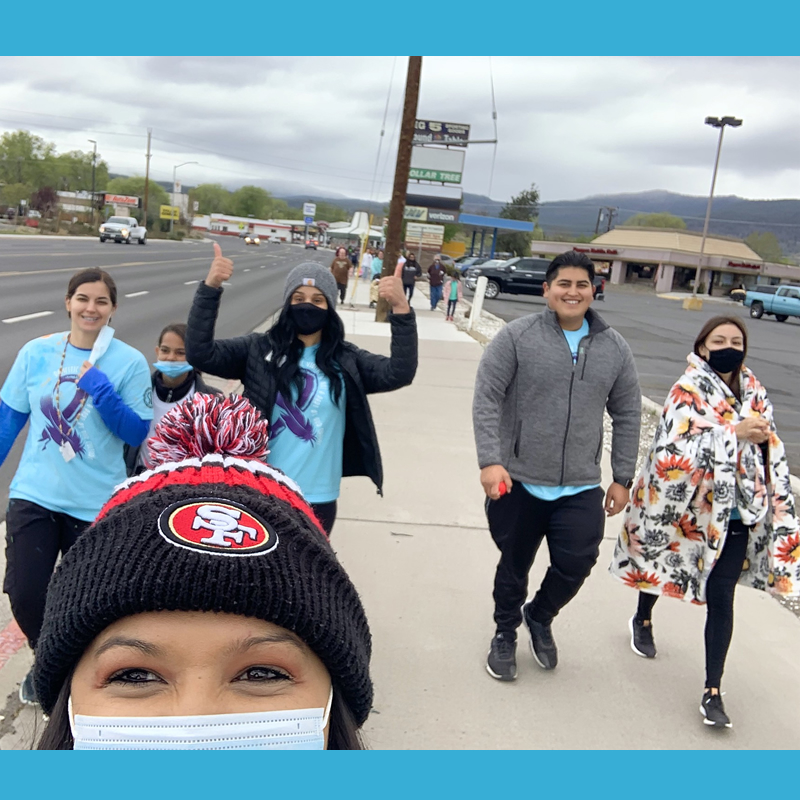 Walk a Mile at Lassen Indian Health Center